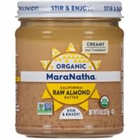 Maranatha Organic Raw Creamy Almond Butter - 8 oz