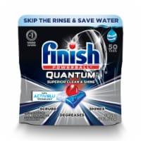 Finish Powerball Quantum Dishwasher Detergent Tabs - 50 ct