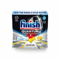 Finish Powerball Quantum Lemon Scent Dishwashing Tablets