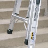 Werner Extension Ladder Leveler,Aluminum HAWA PK70-1 - 1