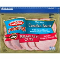 Land O' Frost Premium Breakfast Cuts Natural Hickory Smoked Thick Sliced Canadian Bacon