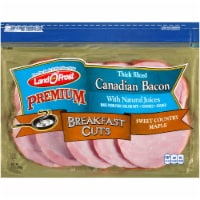 Land O' Frost Premium Breakfast Cuts Sweet Country Maple Thick Sliced Canadian Bacon