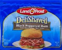 Land O' Frost Deli Shaved Black Peppered Ham