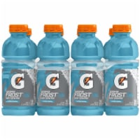 Gatorade Frost Cascade Crash Thirst Quencher Electrolyte Enhanced Sports Drinks