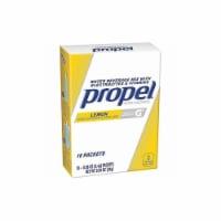Propel Electrolytes,Powder,Lemon,16 oz.,PK10  01090 - 1