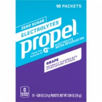 Propel Grape Flavored Enhanced Water Mix with Electrolytes Vitamins C & E 10 Packets