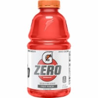 Gatorade G Zero Sugar Fruit Punch Electrolyte Enhanced Sports Drink