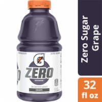 Gatorade G Zero Sugar Grape Electrolyte Enhanced Sports Drink