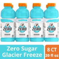 Gatorade G Zero Sugar Glacier Freeze Electrolyte Enhanced Sports Drinks