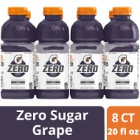 Gatorade G Zero Sugar Grape Electrolyte Enhanced Sports Drinks