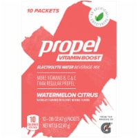 Propel Vitamin Boost Watermelon Citrus Electrolyte Enhanced Water Mix 10 Count