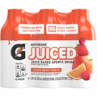 Gatorade Juiced Citrus Berry Punch Juice Based Sports Drinks