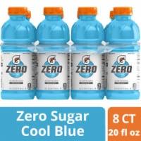 Gatorade Zero Thirst Quencher Cool Blue Sports Drink