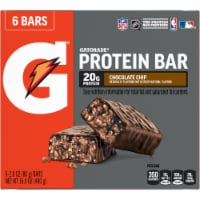 Gatorade Chocolate Chip Whey Protein Bars