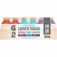 Gatorade G2 Lower Sugar Thirt Quencher Sports Drinks Variety Pack 18 Count