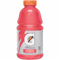 Gatorade Thirst Quencher Strawberry Watermelon Electrolyte Enhanced Sports Drink 32 oz Bottle