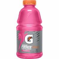 Gatorade Thirst Quencher Fierce Strawberry Electrolyte Enhanced Sports Drink Bottle