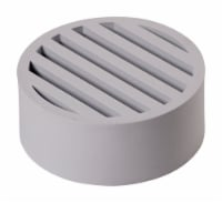 NDS 4 in. Round Plastic Drain Grate - Case Of: 1; - Count of: 1