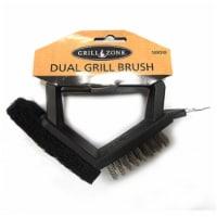 Blue Rhino 00338TV Barbecue Brush & Pad, Steel Bristles