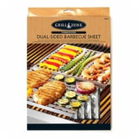 Blue Rhino 00340TV Re-Usable BBQ Sheet, Dual-Sided Stainless Steel