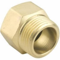 Fiskars 581654 0.75 x 75 in. Green Thumb Male-Female Pipe to Hose Connector