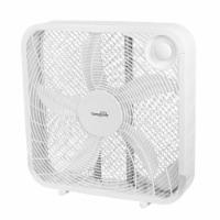 Midea International 218062 20 in. WP White Box Fan - 1