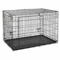 Midwest Metal Products 248929 48 in. Pet Expert Double Door Dog Crate