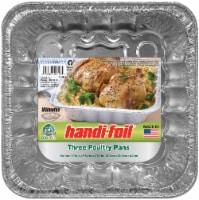 Handi-foil® Eco-Foil® Poultry Pans - Silver