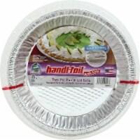 Handi-foil® Cook-n-Carry Pie Pans & Lids - Silver