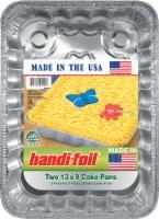 Handi-foil® Eco-Foil Cake Pans - 2 Pack