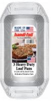 Handi-foil® Heavy Duty Loaf Pans - Silver