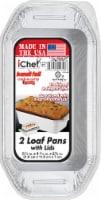 Handi-foil® iChef Loaf Pans & Lids