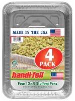 Handi-foil® Eco-Foil Stuffing Pans - 4 Pack