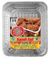 Handi-foil® King Roaster Extra Deep Baker Pans - Silver