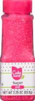 Cake Mate Pink Sugar Crystals