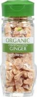 McCormick Gourmet Organic Crystallized Ginger Shaker - 2 oz