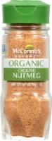McCormick Gourmet Organic Ground Nutmeg Shaker - 1.81 oz