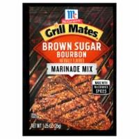 McCormick Grill Mates Brown Sugar Bourbon Marinade Mix - 1.25 oz