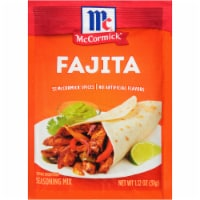 McCormick Fajita Seasoning Mix
