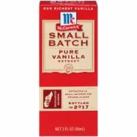 McCormick® Small Batch Pure Vanilla Extract - 2 fl oz