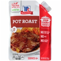 McCormick Pot Roast Slow Cooker Sauce Pouch - 9 oz