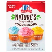McCormick® Nature's Inspiration Food Colors - 3 ct / 0.17 oz