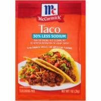 McCormick Reduced Sodium Taco Seasoning Mix