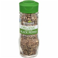 McCormick Gourmet Organic Cracked Black Pepper