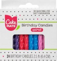 Cake Mate Spiral Birthday Candles