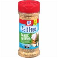 McCormick Salt Free Garlic & Herb Seasoning - 4.37 oz
