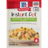 McCormick® Instant Pot® Chicken Broccoli & Rice Seasoning Mix - 1.25 oz