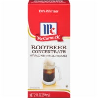 McCormick Natural & Artificial Flavored Root Beer Concentrate