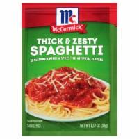 McCormick Thick & Zesty Spaghetti Sauce Mix