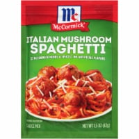 McCormick Italian Mushroom Spaghetti Sauce Mix - 1.5 oz
